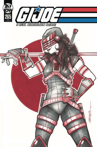 G.I. Joe: A Real American Hero #265 (10 Copy Beck Cover)