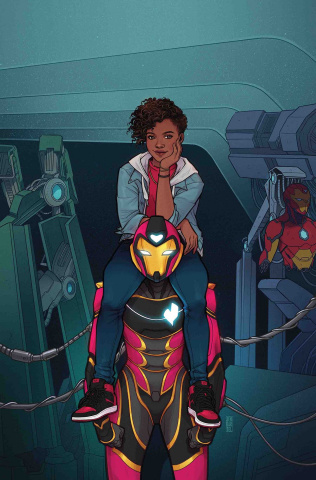 Ironheart #1 (Bartel Cover)