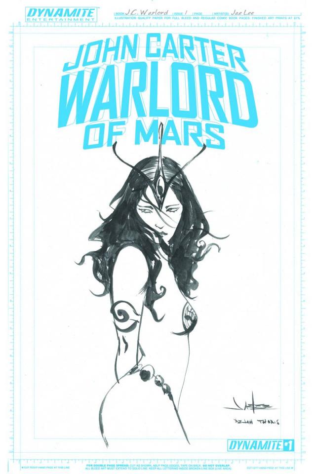John Carter: Warlord of Mars #1 (30 Copy Lee Art Board Cover)