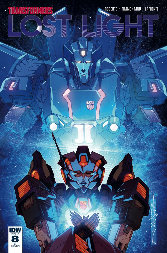 The Transformers: Lost Light #8 (10 Copy Cover)