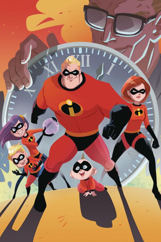 Incredibles 2: Slow Burn #1 (Kawaii Cover)
