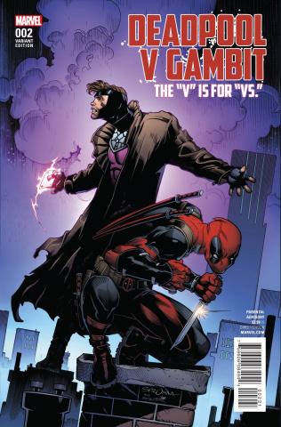 Deadpool vs. Gambit #2 (Stroman Cover)