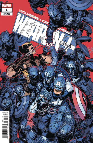 Wolverine and Captain America: Weapon Plus #1 (Bachalo Cover)