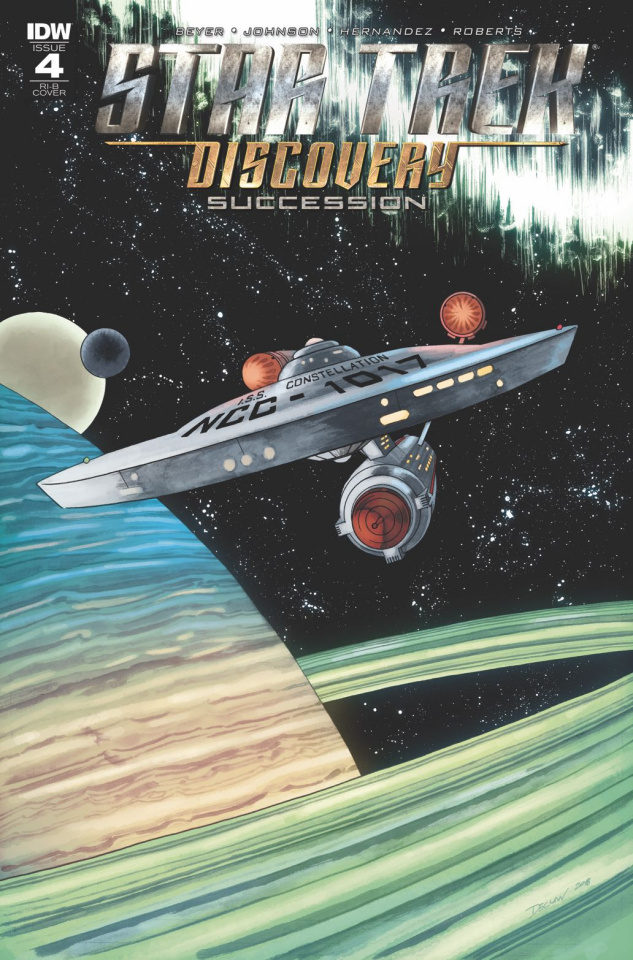 Star Trek: Discovery - Succession #4 (25 Copy Cover)