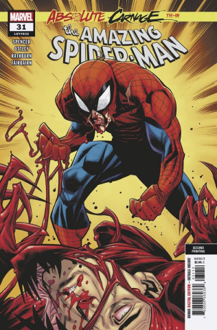 The Amazing Spider-Man #31 (Ottley 2nd Printing)