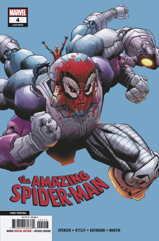 The Amazing Spider-Man #4 (Ottley 3rd Printing)
