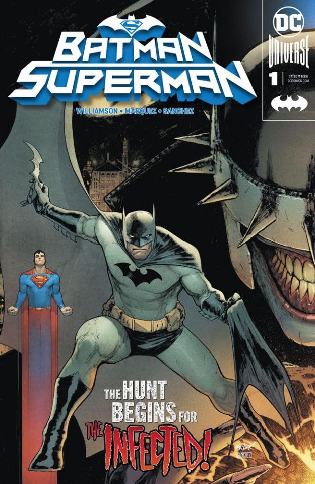 Batman / Superman #1 (Batman Cover)