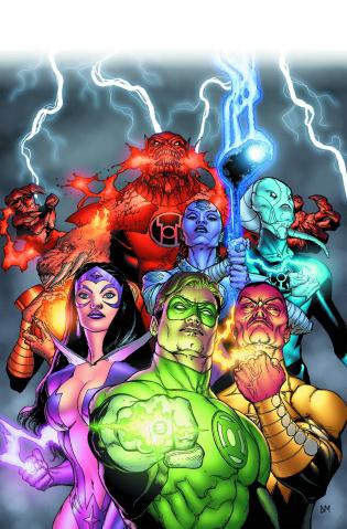 Green Lantern by Geoff Johns Vol. 3 (Omnibus)