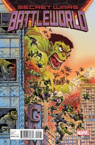 Secret Wars: Battleworld #2 (Stokoe Cover)
