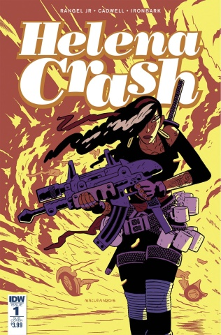 Helena Crash #1 (Subscription Cover)