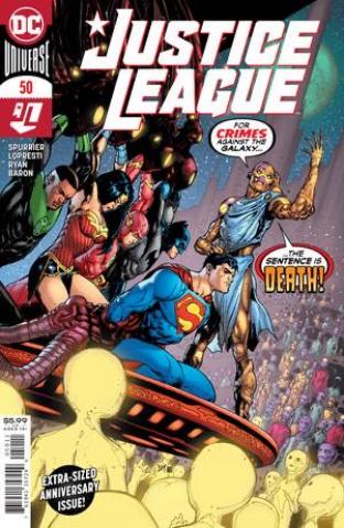 Justice League #50 (Doug Mahnke Cover)