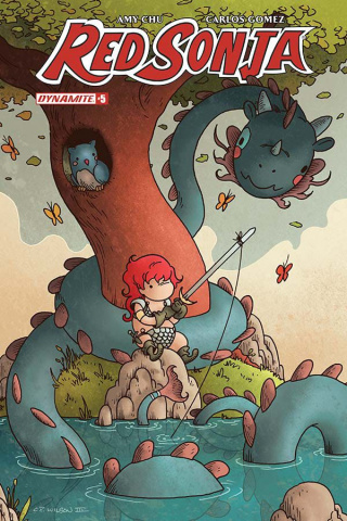 Red Sonja #5 (Wilson Cover)