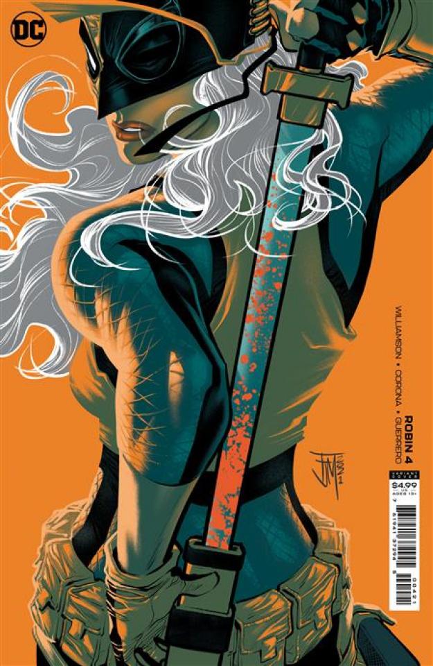 Robin #4 (Francis Manapul Card Stock Cover)