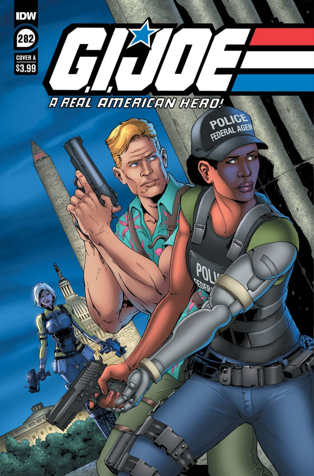 G.I. Joe: A Real American Hero #282 (Andrew Griffith Cover)