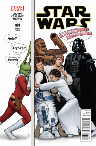 Star Wars #1 (Christopher Humorous Party Cover)
