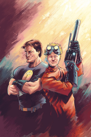 Dr. Horrible: Best Friends Forever #0 (Moon Cover)