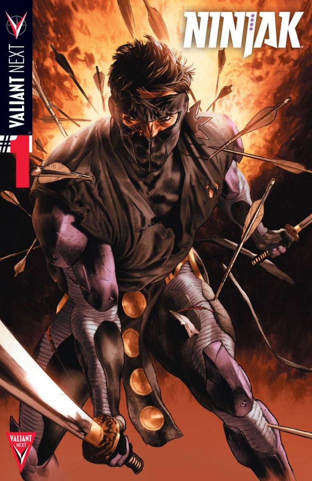 Ninjak #1 (Larosa Cover)