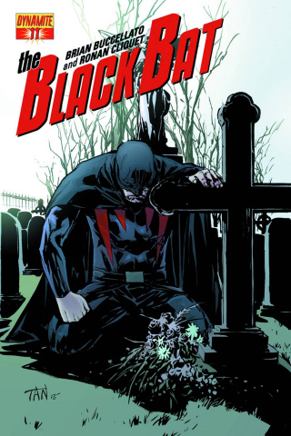 The Black Bat #11 (Subscription Cover)