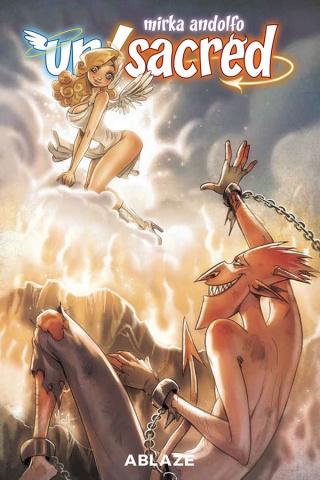Un/Sacred #4 (Mirka Andolfo Cover)
