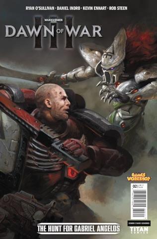 Warhammer 40,000: Dawn of War III #2 (Sondred Cover)