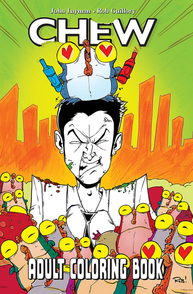 Chew: Adult Coloring Book