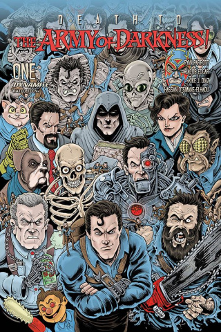 Death to the Army of Darkness #1 (Haeser Bonus Cover)
