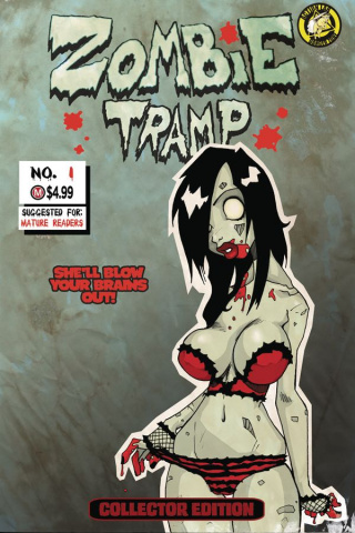 Zombie Tramp: Origins #1 (Replica Cover)