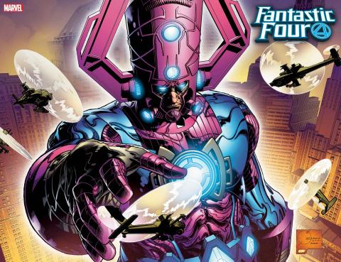 Fantastic Four #1 (Quesada Hidden Gem Cover)