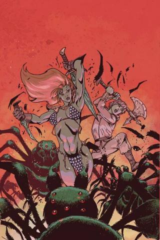 Killing Red Sonja #3 (11 Copy Castro Virgin Cover)