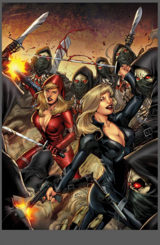 Grimm Fairy Tales: Red Agent #4 (Richardson Cover)