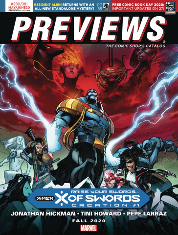 Previews #383: August 2020