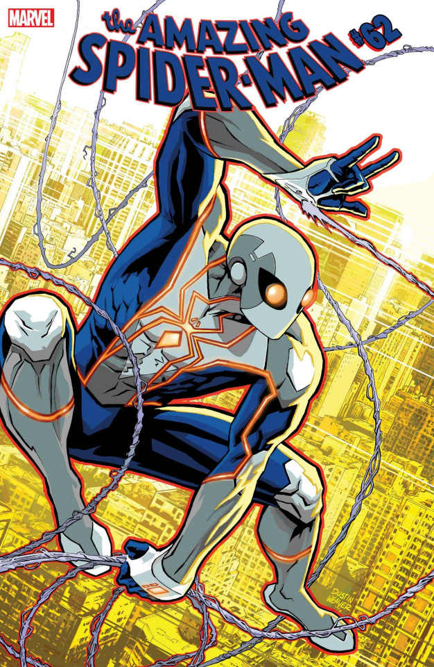 The Amazing Spider-Man #62 (Weaver Design Cover)