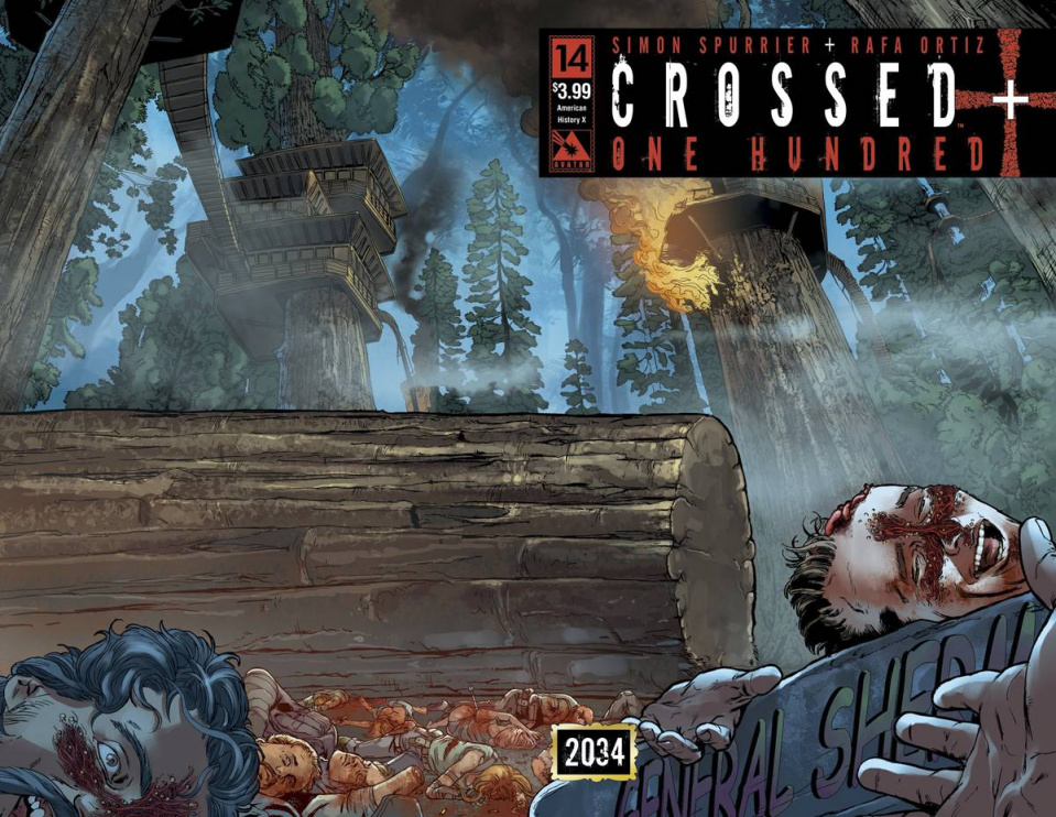 Crossed + One Hundred #14 (American History X Wrap Cover)