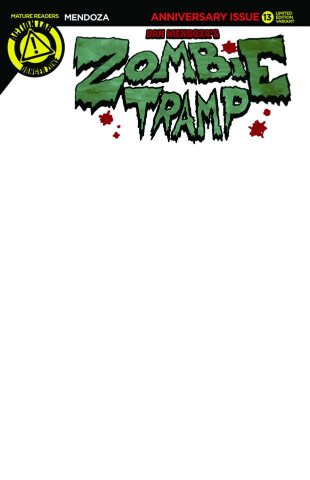 Zombie Tramp #13 (Blank Sketch Cover)