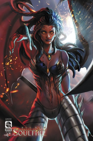 All New Soulfire #5 (10 Copy Cover)