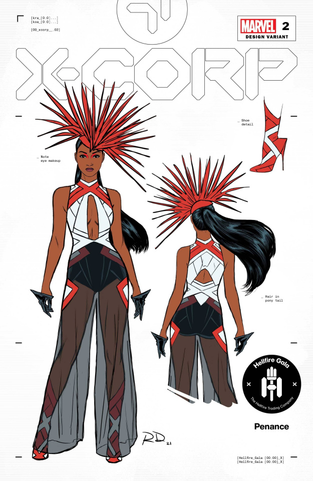 X-Corp #2 (Dauterman Monet Design Cover)