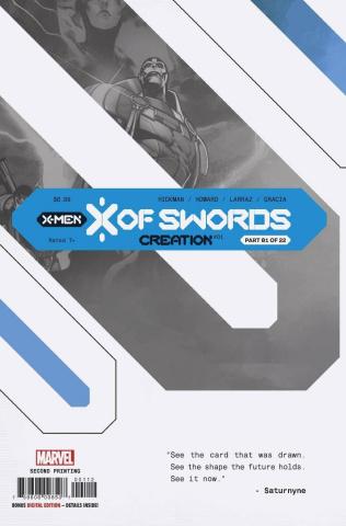 X of Swords: Creation #1 (Larraz 2nd Printing)