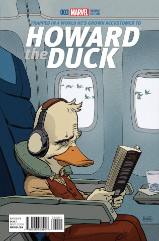 Howard the Duck #3 (Rivera Cover)