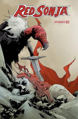 Red Sonja #25 (Lee Cover)