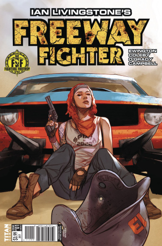 Freeway Fighter #1 (Oliver Cover)