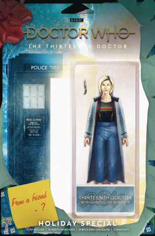 Doctor Who: The Thirteenth Doctor Holiday Special #1 (Action Figure Cover)