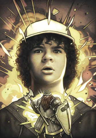 Stranger Things and Dungeons & Dragons #2 (Dittmann Cover)