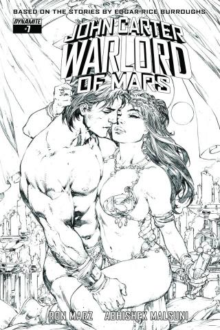 John Carter: Warlord of Mars #7 (20 Copy Benes B&W Cover)