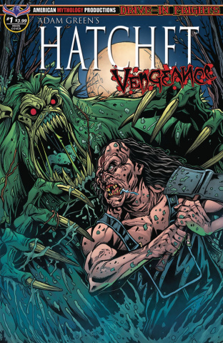 Hatchet: Vengeance #1 (Calzada Faceoff Cover)