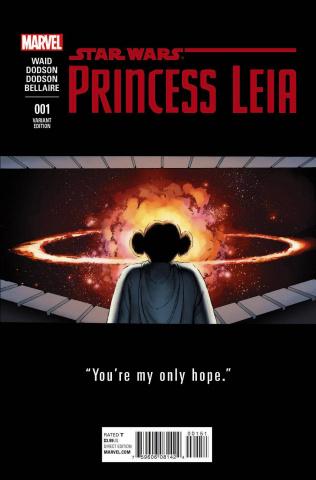 Princess Leia #1 (Cassaday Teaser Cover)