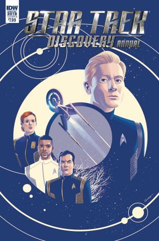Star Trek: Discovery Annual 2018 (Caltsoudas Cover)