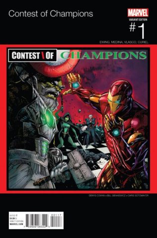 Contest of Champions #1 (Cowan Hip Hop Cover)