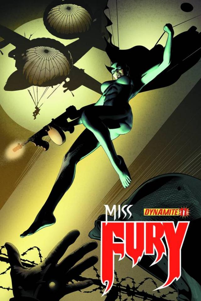 Miss Fury #11 (Calero Cover)
