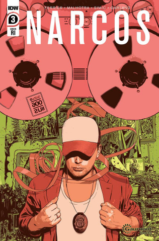 Narcos #3 (10 Copy Fuso Cover)