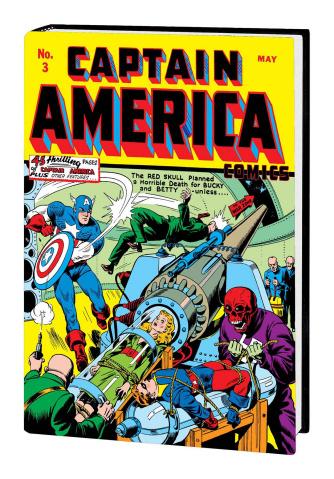 Golden Age Captain America Vol. 1 (Omnibus)